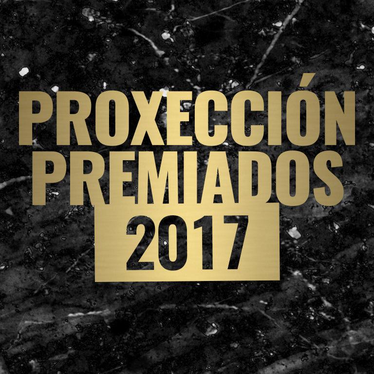 Proxeción Premiados 2017