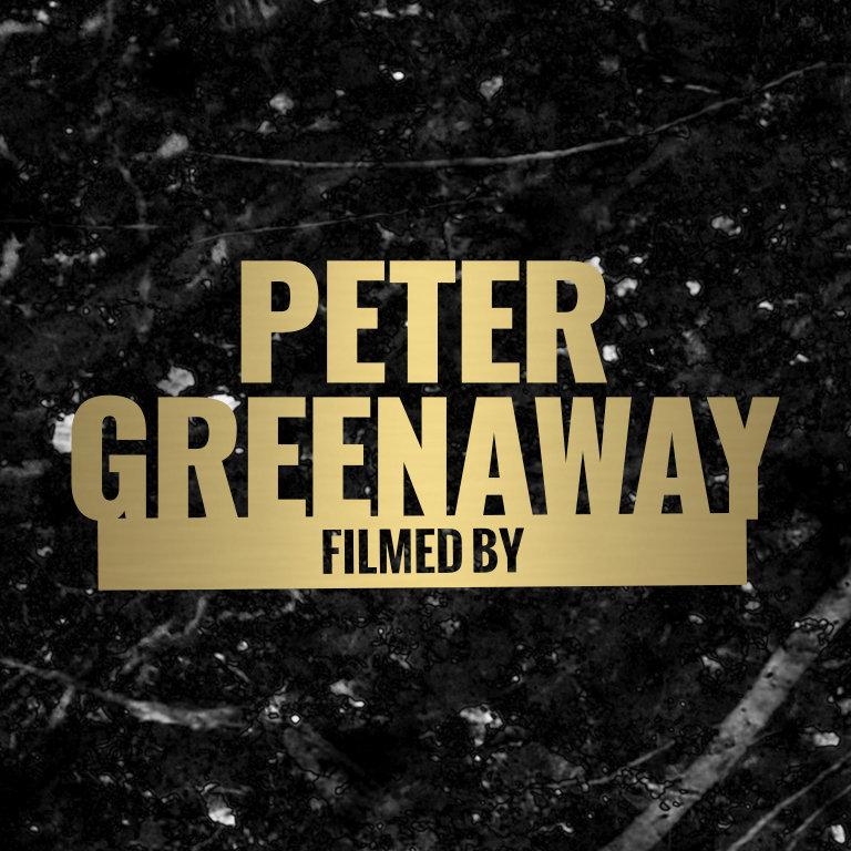 Filmed by Peter Greenaway